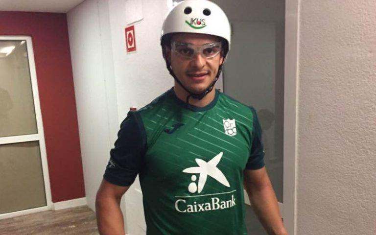 Alfredo Villegas listo para defender la celeste y blanca