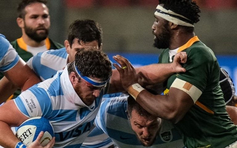 Segunda caída de Los Pumas ante Sudáfrica