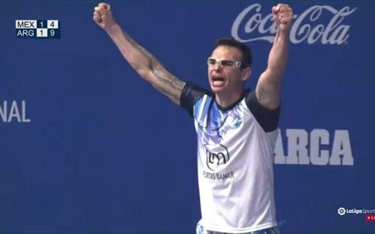 Alfredo Villegas y la Argentina están en la Final