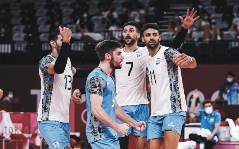 Argentina debuta en el Sudamericano de voley