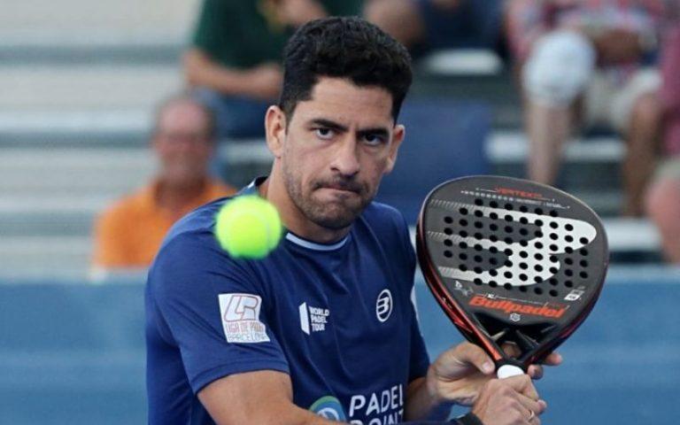 Maximiliano Sanchez en semifinales del Master de Cascais