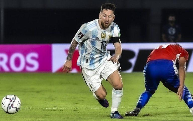 Argentina no aprovechó sus chances y empató con Paraguay en Asunción